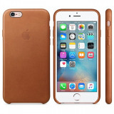 Husa piele Apple iPhone 6s MKXT2ZM maro Blister Originala