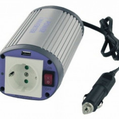 Invertor de tensiune cu USB Albrecht 150W 12V - Invertor Auto