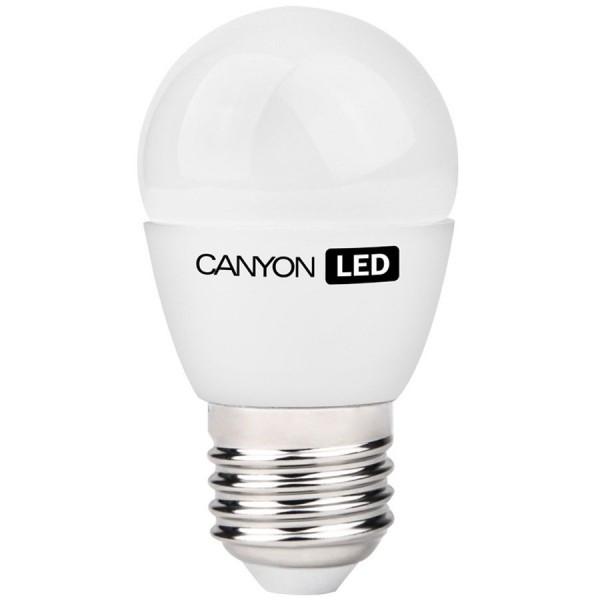 Bec cu LED Canyon PE27FR6W230VW, Forma P45, E27, 6W, 470lm, 2700K foto mare