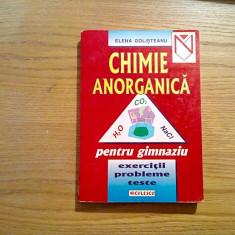 CHIMIE ANORGANICA - Elena Golisteanu - Editura Niculescu, 1999, 411 p.