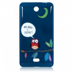 Husa silicon TPU Microsoft Lumia 430 Night Owl - Husa Telefon