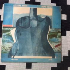 ALEXANDRU ANDRIES Despre distante album disc vinyl lp muzica rock pop blues, VINIL, electrecord