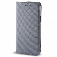 Husa piele Apple iPhone 6 Smart Magnet gri - Husa Tableta