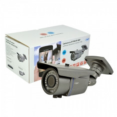 Camera cu IP PNI IP1MP varifocala 2.8 - 12 mm de exterior 720p