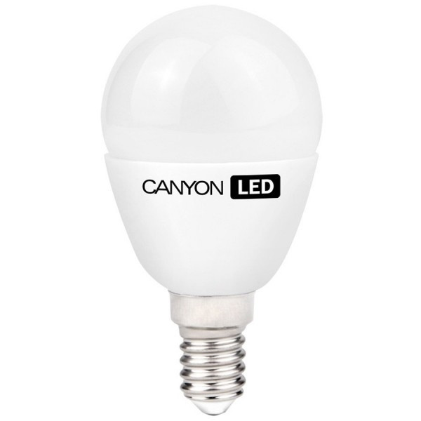 Bec LED Canyon 3.3W P45 E14 WW Milky