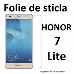 FOLIE de STICLA Huawei Honor 7 LITE 0, 3mm 9H tempered glass securizata - Folie de protectie, Anti zgariere