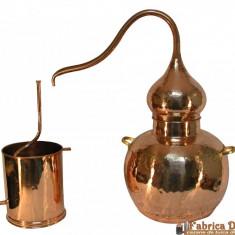 Cazan Tuica Al-Ambiq 20 Litri, Cu Termometru pe capac Inclus