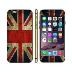 Kit personalizare telefon Apple iPhone 6 UK Flag - Sticker Telefon