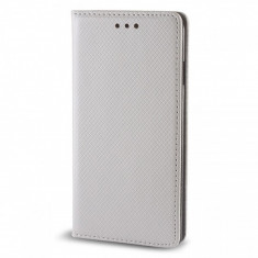 Husa Piele Samsung Galaxy A5 (2016) A510 Case Smart Magnet argintie - Husa Tableta
