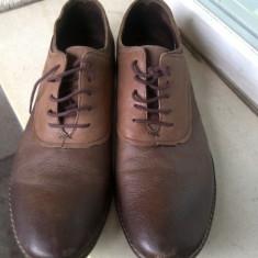 PANTOFI PIELE NATURALA DEOSEBITI MARIME 43 - Pantofi barbat, Culoare: Din imagine