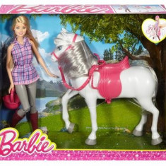 Papusa Mattel Barbie Horse And Doll