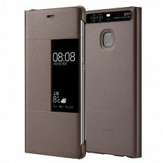 Husa piele Huawei P9 View Maro Blister Originala - Husa Tableta