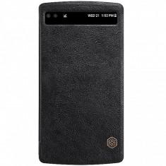 Husa piele LG V10 Nillkin Qin View Blister Originala - Husa Tableta