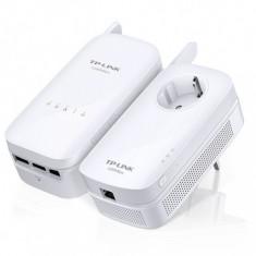 Kit Adaptor+Amplificator Powerline. AV1200 Gigabit AC, TP-LINK TL-WPA8630KIT