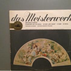 VIVALDI - CONCERTO: 7,9,10,12-VIRTUOSI DI ROMA (1967/EMI/RFG) - VINIL/RAR/Ca Nou, emi records
