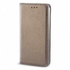 Husa Piele ZTE Blade A452 Case Smart Magnet Aurie - Husa Tableta