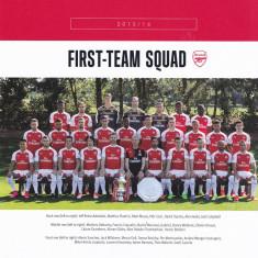 Foto fotbal echipa ARSENAL LONDRA sezonul 2015/2016