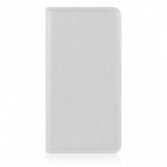 Husa piele Apple iPhone 6 Smart Magnet alba - Husa Tableta