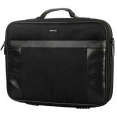 Geanta Laptop Serioux 15.6 inch SNC-EL156 black, Poliester, Negru