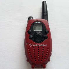 Statie emisie receptie Motorola T 5200 Talkabout walkie talkie portabila T 5100 - Statie radio