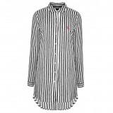 Camasa US Polo ASSN de dama, camasa lunga de plaja 100% bumbac