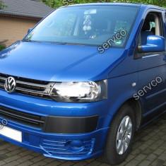 Prelungire bara fata VW T5 Transporter Caravelle Multivan Sportline ver2 - Prelungire bara fata tuning, Volkswagen, TRANSPORTER V bus (7HB, 7HJ, 7EB, 7EJ, 7EF) - [2003 - 2013]