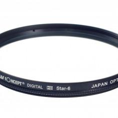 Kent Faith Star Filter 6 line 67mm Filtru star 6 raze - Filtru foto
