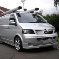 Prelungire tuning bara fata VW T5 Transporter Sportline OEM ver2 - Prelungire bara fata tuning, Volkswagen, TRANSPORTER V bus (7HB, 7HJ, 7EB, 7EJ, 7EF) - [2003 - 2013]