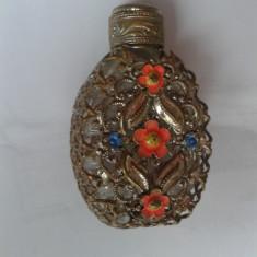 STICLA -ALAMA ARGINTATA-PARFUM - Sticla de parfum