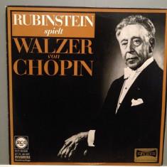 CHOPIN - WALTZES - piano ARTUR RUBINSTEIN(1963/RCA/RFG) - Vinil/F. Rar/Vinyl - Muzica Clasica rca records
