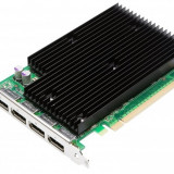 Placa video second hand nVidia Quadro NVS450, 512 MB DDR3, 128 bit, 4 x Display Port, PCI-e