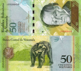 VENEZUELA 50 bolivares 2009 UNC!!!