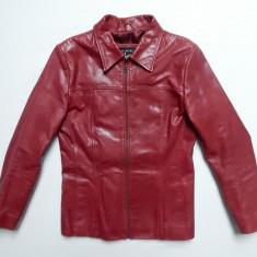 Geaca piele naturala Gipsy Leatherwear by Mauritius; marime L, vezi dim.;ca noua - Geaca dama, Marime: L, Culoare: Din imagine