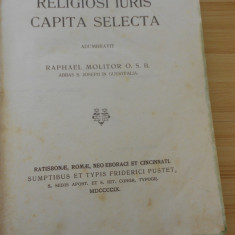 CARTE CATOLICA - IN LATINA - COTOR PIELE-1909