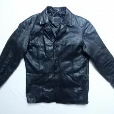 Geaca piele naturala Dinesen Real Leather; marime XL, vezi dim.; impecabila - Geaca barbati, Culoare: Din imagine