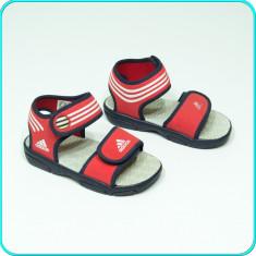 FOARTE COMODE _ Sandale, aerisite, usoare, calitate ADIDAS _ fetite | nr. 27 - Sandale copii Adidas, Culoare: Rosu, Fete
