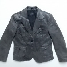Geaca piele naturala Donna D Leather Pig Split; marime 42, vezi dimensiuni exacte - Geaca dama, Culoare: Din imagine