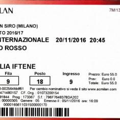 Bilet meci fotbal AC MILAN - INTERNAZIONALE MILANO 20.11.2016