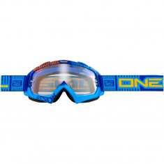 Ochelari O'Neal B-Flex ETR, anti-ceata, silicon pe curea, albastru/portocaliuPB Cod:ONE-77840 - Echipament Ciclism