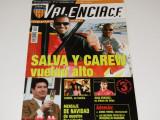 Revista fotbal CF VALENCIA (decembrie 2001)