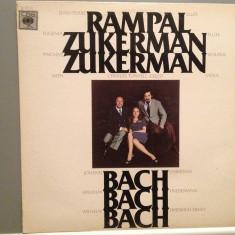 J.P.RAMPAL/E.ZUKERMAN -J.C.BACH/W.F.BACH(1975/CBS/USA)- Vinil/RAR/Impecabil - Muzica Clasica Altele