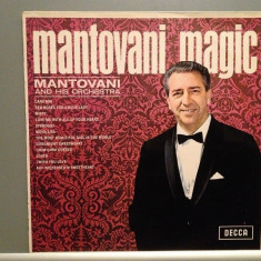 MANTOVANI and his Orchestra - MAGIC (1966/DECCA/ENGLAND)- Vinil/Impecabil(NM) - Muzica Clasica decca classics