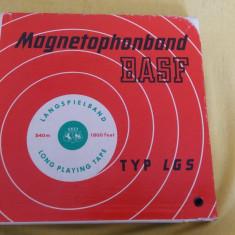 Banda magnetofon BASF 540 mm, typ LGS