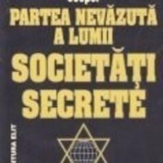 Partea nevazuta a lumii. Societati Secrete - Milton William Cooper - Carte masonerie