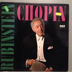 ARTUR RUBINSTEIN plays CHOPIN (1968/RCA REC/RFG) - Vinil/RAR/IMPECABIL (NM) - Muzica Clasica rca records