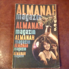 Almanah Magazin anul 1965 / 208 pagini !
