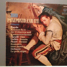 Duo POMPONIO-ZARATE - Gitarre:Haydn/Debussy(1967/RCA Rec/RFG)- Vinil/Impecabil - Muzica Clasica rca records