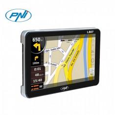 Sistem de navigatie portabil PNI L807 7 inch, 800 MHz, 256M DDR, 8GB memorie interna, FM transmitter, 7 inch