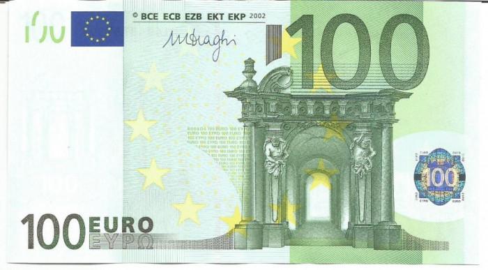 !!!  GERMANIA  - 100  EURO  2002 - P 18x  - UNC / CEA  DIN  SCAN