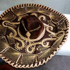 Palarie originala, sombrero, de mexican - Palarii Barbati